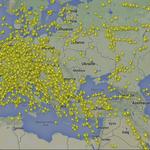 Airlines avoid Ukrainian air space in wake of 777 crash