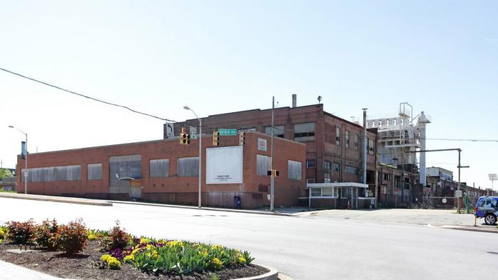 Demolition begins at the former Pemco site in Highlandtown