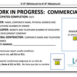 Construction signage requirements changed by L&I