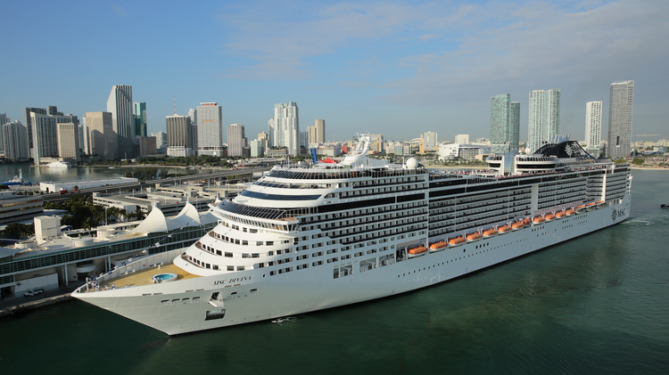 Cruises From Miami >> Msc Cruises Enters Agreement With Miami Dade County To Build A