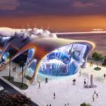 A. <strong>Zahner</strong> Co. manufactures exterior of world's third-largest aquarium
