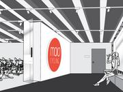 A rendering of the interior of Mojo Cycling Studio.
