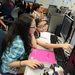 Girls Who Code: High-schoolers work to close tech gender gap