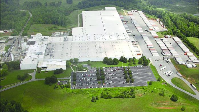 Why is Procter & Gamble paying $400 per square foot for its new Triad warehouse space?