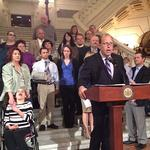 Wolf calls for Sen. <strong>Leach</strong> to resign in wake of sexual harassment allegations