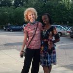 Rwanda businesswoman studies Raleigh's fair-trade shops