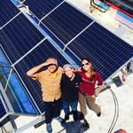 Birchwood Cafe goes green(er), adds a solar panel