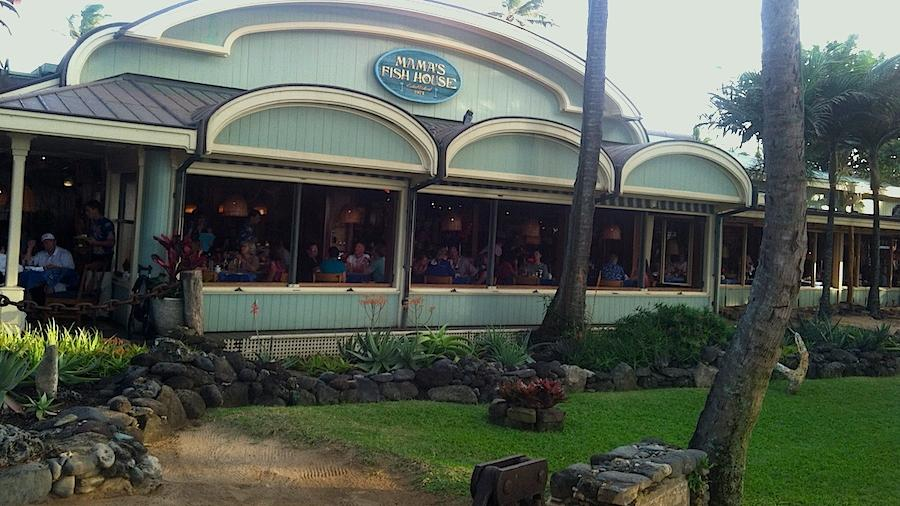 Maui 39 s mama 39 s fish house only hawaii restaurant on for Mamas fish house lunch menu