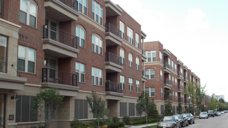 The Harrison Park Apartments Originally Were Designed As Condo Units
