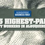 See our list of the highest-paid city workers in Albuquerque