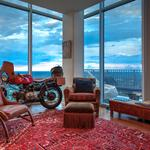 Room with The Vue: A look at the uptown Charlotte penthouse designed for movie star Mickey Rourke (PHOTOS)