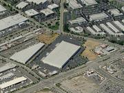 An aerial view of 5555 Auto Mall Parkway in Fremont.