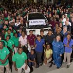 Mercedes makes its 2 millionth vehicle at Tuscaloosa plant