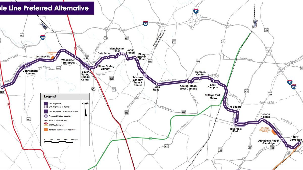 U S Court Of Appeals For The D C Circuit Ruling Gives Purple Line Green Light To Move Forward Washington Business Journal