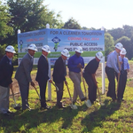 Champion Brands and Trillium CNG break ground on new fueling station