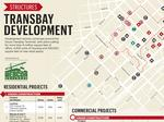 Map of Transbay commercial and residential developments