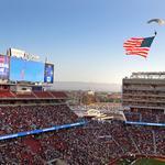 49ers stadium's surprising score on construction, seat licenses