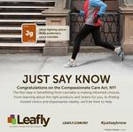 Leafly takes out full-page marijuana ad in Sunday's New York Times
