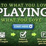 Meaningful Wins allows fantasy football enthusiasts to 'play for good'