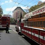 Renoir Hotel blaze threatens historic San Francisco structure under renovation