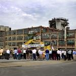 Cleaning the Carter Carburetor site to transform a neighborhood
