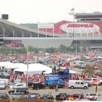 Chiefs win on the field, lose in the parking lot