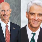 Poll shows Scott edging Crist in tight race