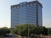 The campus includes a 17-story, 594,000-square-foot office building; a two-story, 67,000-square-foot office building and three auxiliary buildings.