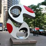 Equity Office debuts abstract art in front of 225 Franklin St.