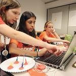 Groups strive to get girls interested in science careers
