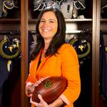 <strong>Molly</strong> <strong>Higgins</strong> Vice president of corporate communications and civic affairs, St. Louis Rams