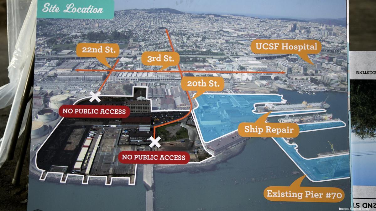 Pier 70 San Francisco Map Sierra Club endorses Pier 70 S.F. waterfront project   San  Pier 70 San Francisco Map