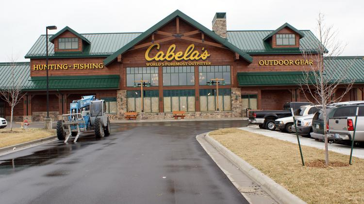 Regency Lakes, the east Wichita development that includes Cabela's, is expanding. Construction has started on a 11,375 square-foot building in front of the store.