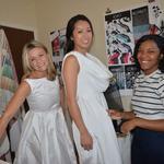 Exclusive: Project Runway winner designs dresses for Diner en Blanc
