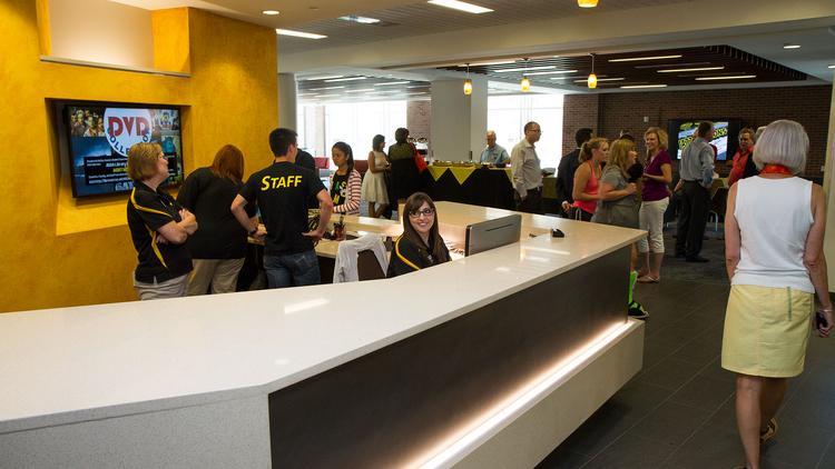 WSU's Bardo touts Shocker Hall as a starting point for