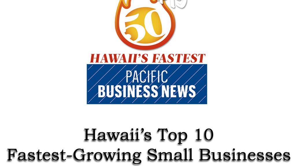 Oahu construction company is Hawaii's fastest-growing small business