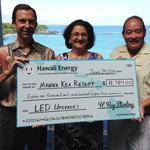 Hawaii Energy gives $82,000 incentive to Mauna Kea Resort for lighting retrofit