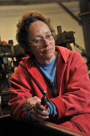 Linda Wagner, one of 12 employees at PEMS whose jobs rely on orders from Remington Arms.