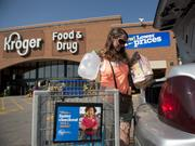 Kroger Co. barely kept its industry-leading same-store sales growth streak of consecutive quarters going in the third quarter.