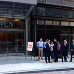 AOL just became the first tenant to move in to former Filene's site
