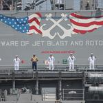 Here's the first sign the amphibious ships at Mayport are having an economic impact