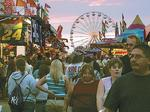 Erie County Fair CEO Dennis Lang rides into the sunset