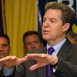 Brownback's cabinet members make more than he does