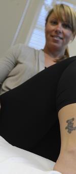 Tattoo regret at work? Cincinnati surgeon's laser zaps it away: PHOTOS (Video)