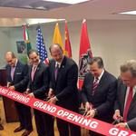 Berry goes to Mexico for ribbon cutting