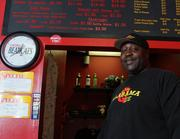 Dwan Ward opened Alabama Que on Short Vine last May. He's since added six employees.
