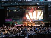 Rain, a Tribute to the Beatles touring group entertained at Safeco Field on Aug. 18, capping a three day Friends of Costco Guild fundraiser for Seattle Children's Hospital which bought in more than $7.2 million.