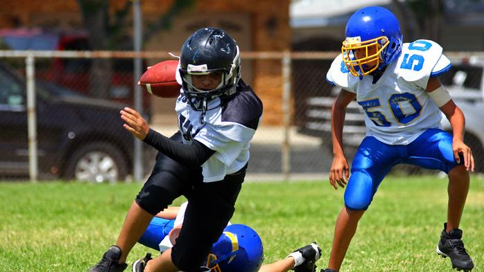 Study details head impacts on youth football players