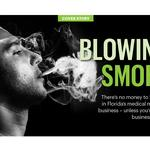 Blowing Smoke: If you can't sell weed, sell words
