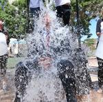 ABQ Mayor Berry does 'Ice Bucket Challenge,' challenges ABQ Business First Publisher Ian Anderson (Video)